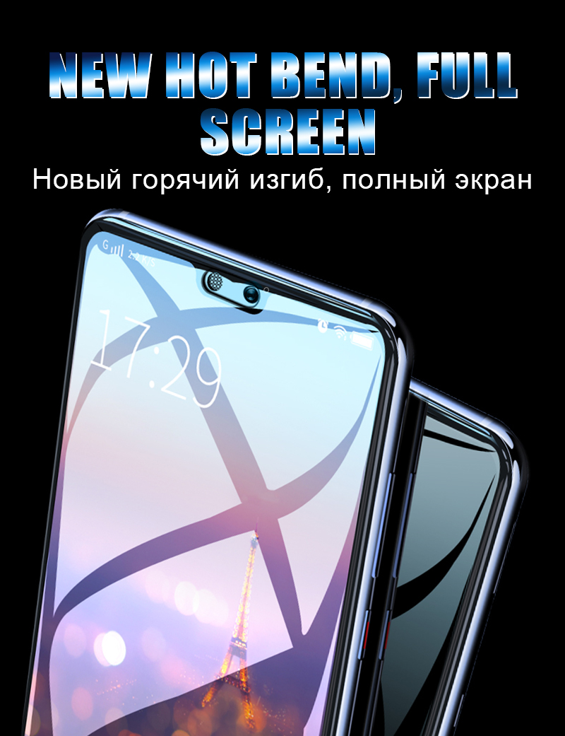 5D Glass For Huawei P20 Lite Glass Protector For Huawei P Smart P10 Honor 9 Play Mate 10 Lite P20 Pro Nova 2i 3E Youth Glass