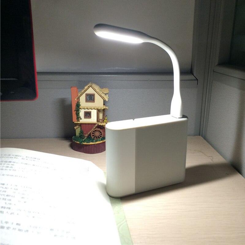 Мини креативная USB Светодиодная лампа для книг, летняя Гибкая Складная USB Светодиодная лампа, внешний аккумулятор для компьютера, ноутбука 5 ...