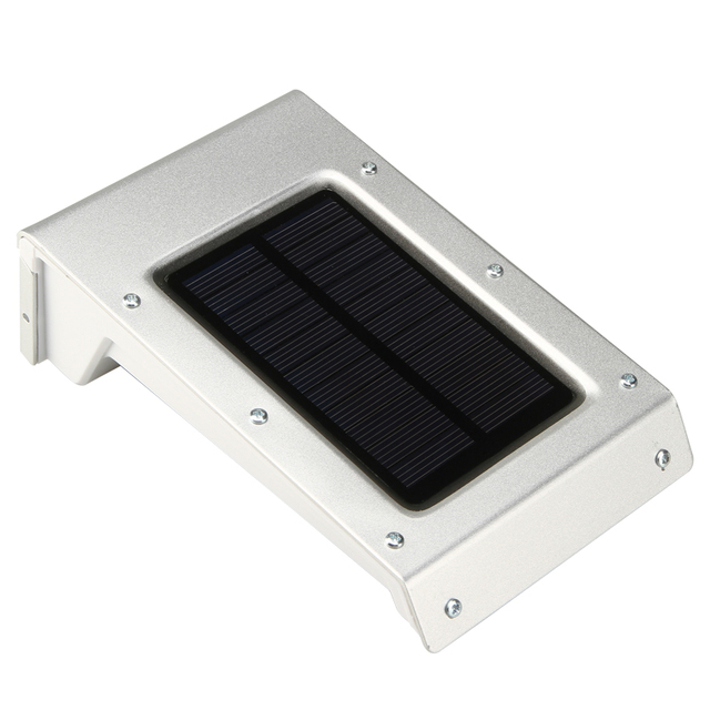 Wireless Waterproof 20 LED Pure White Solar Lights Outdoor Solar Motion Sensor Lights Exterior Security Wall Light Night Lamp