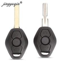 Jingyuqin Ersatz Auto Remote Key Shell für BMW EWS 1/3/5/7 Serie X3 X5 Z3 Z4 HU58 Hu92 Klinge schlüssel Fall fob