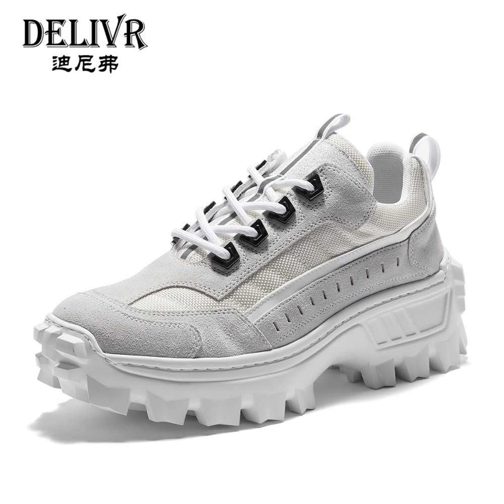 cheap prices various colors official shop Delivr New 2019 Chunky Men Sneakers Breathable Retro ...