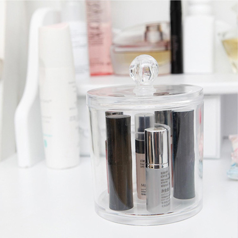 QUBABOBO Clear Acrylic Q tip Holder Box Cotton Pad Storage Stick Cosmetic  Boxes Makeup Organizer New Design Cases Organizador-in Storage Boxes & Bins  from ...