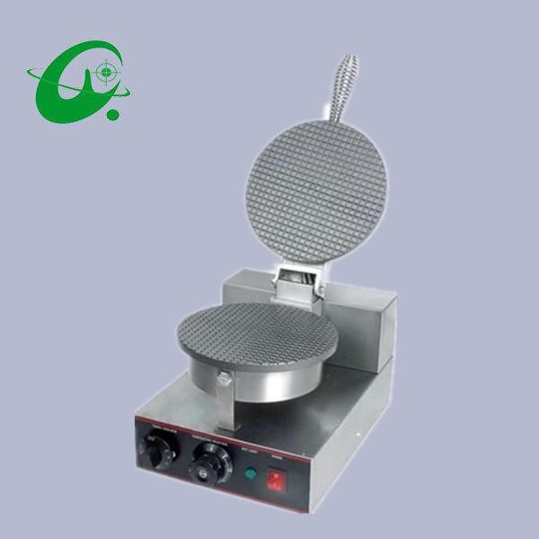 Unito Una Testa Macchina Cono Gelato, Grande Macchina Di Elaborazione Di Mais/ice Cream Cone Maker. Waffle Maker