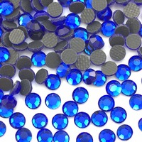 DMC DIY New wholesale SS10(2.8mm) 50000pcs/pack Flatback Crystal Hotfix Rhinestones iron clothes accessaries glitter free ship