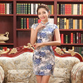 Women Vestidos Cheongsam Dress Vintage Qipao Dress Qipao Cheongsam Evening Party Dress Female Chinese Traditional Dress 18