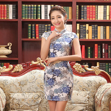 Women Vestidos Cheongsam Dress Vintage Qipao Dress Qipao Cheongsam Evening Party Dress Female Chinese Traditional Dress 18