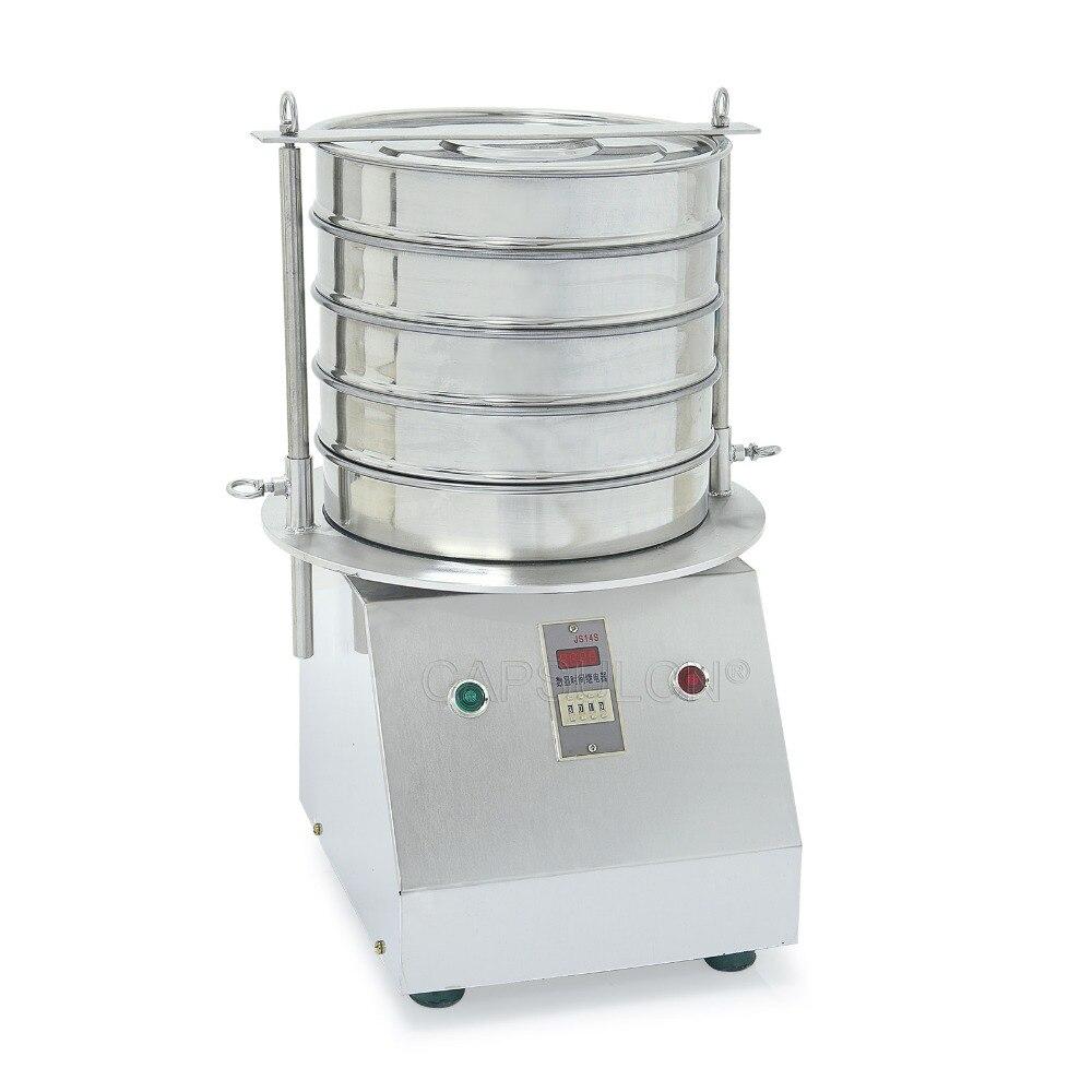 CapsulCN, SY-300 1-5 couches poudre liquide vibrant Machine à tamis, agitateur de laboratoire/Machine à tamiser la poudre/écran vibrant