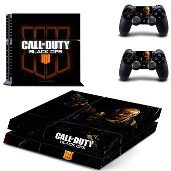 Call of Duty: Black Ops 4 PS4 Skin Sticker for Sony PS4 PlayStation 4 console and 2 controller skins