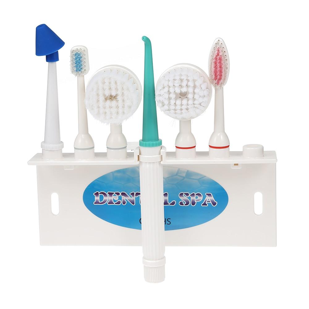 купить Household Oral Irrigator Multifunctional Dental Water Floss Set Ater Jet Floss Pick Water Flosser Teeth Cleaner по цене 1019.28 рублей