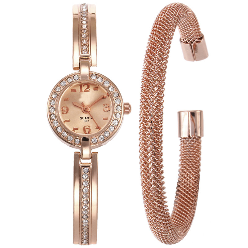2018 Fashion LASPERAL Women Jewelry Watches Rhinestone Steel Strip Watch Set Gifts Alloy Bracelet Watch Set Clock Drop Shipping цена
