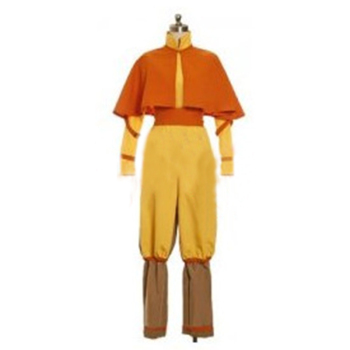 Avatar The Legend of Korra Avatar: The Last Airbender Avatar Aang Cosplay Costume фото