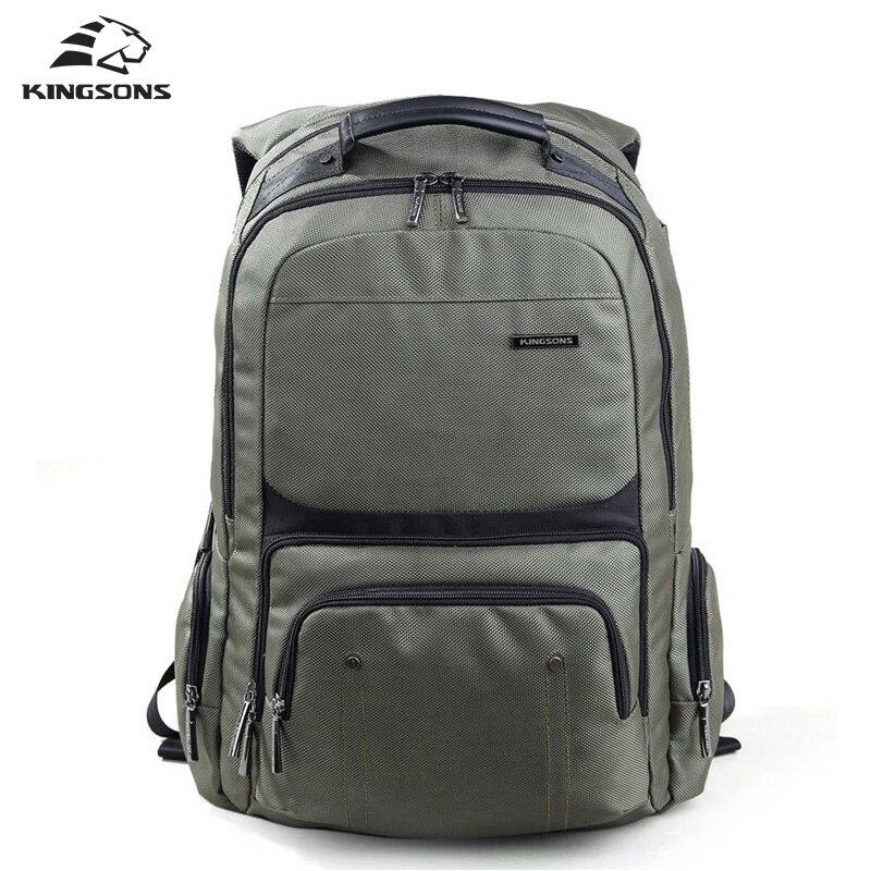 Kingsons  Laptop Backpacks Male High Quality Student Notebook Backpack Nylon Bagpack for Men mochila