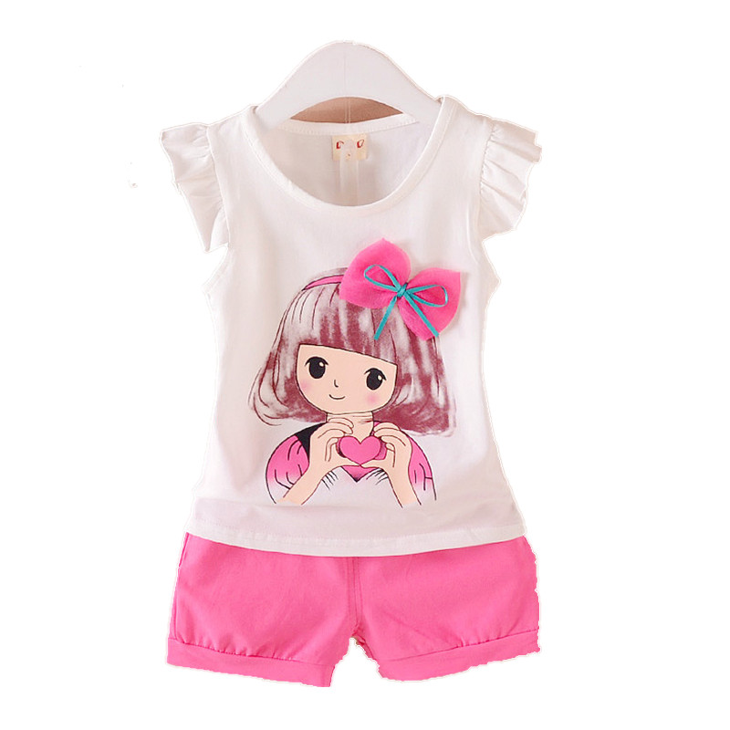 Summer season Ladies Clothes Units Youngsters Clothes Child Vogue Cartoon Rabbit Vest T-Shirts Shorts Toddler Cotton Sportswear Clothes Units, Low-cost Clothes Units, Summer season Ladies Clothes Units Youngsters Clothes...