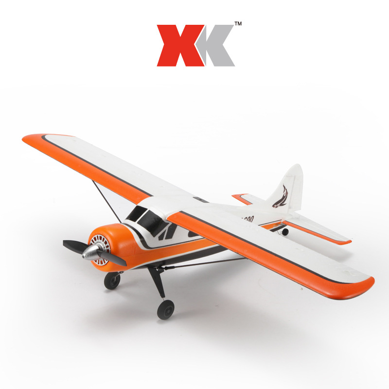 XK DHC-2 DHC2 A600 5CH 3D 6G System Brushless RC Airplane Compatible Futaba RTR image