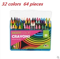 36Colors 36 Pieces Non Toxic Wax Crayon Oil Pastel Edible Kids Drawing Supplies Art Supplies School