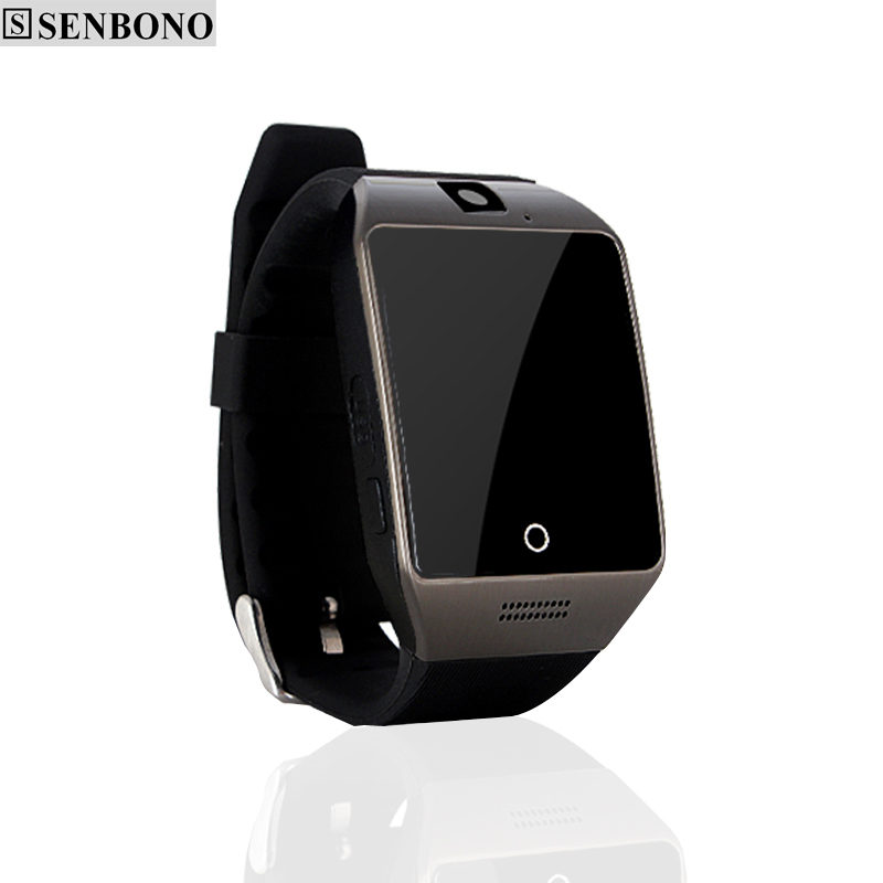 imágenes para SENBONO Q18 bluetooth apoyo reloj inteligente poligrafía anti-perdida Navegador sim TF whatsapp facebook notificación smartwatch
