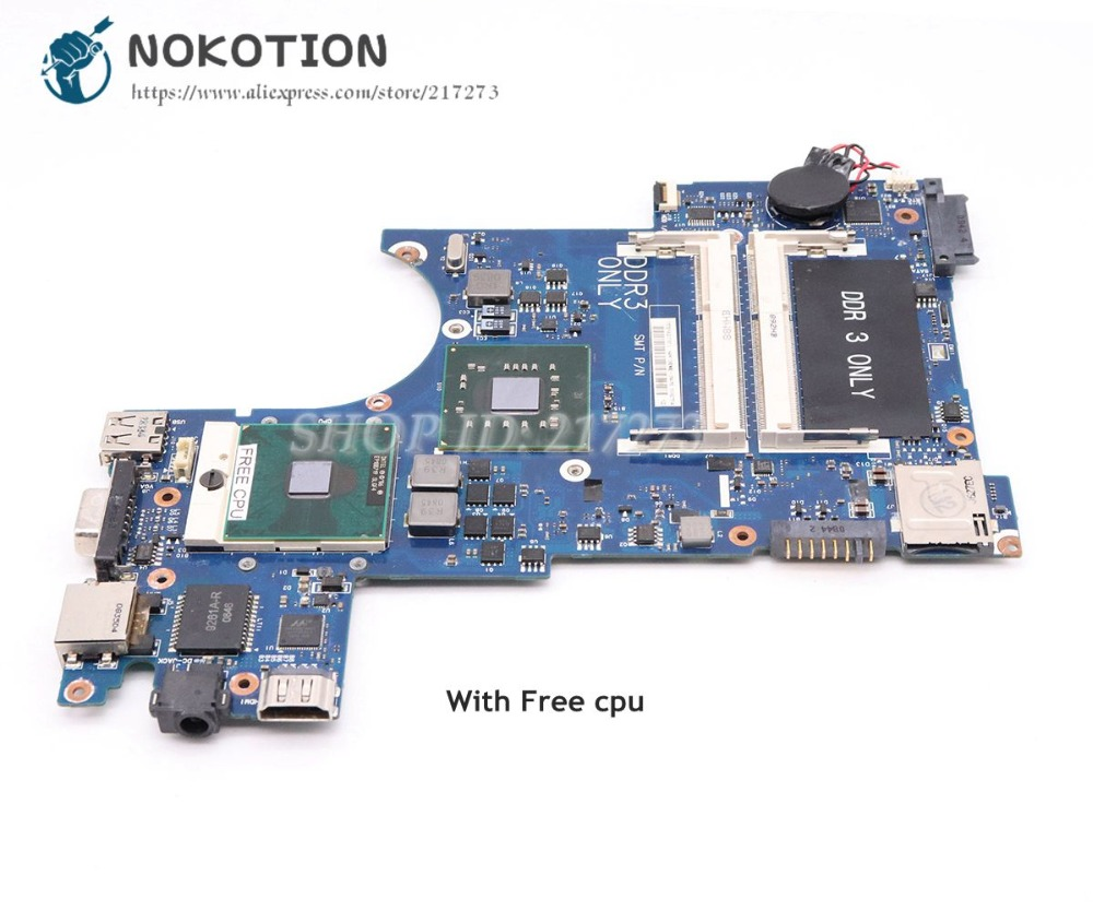 NOKOTION For Samsung NP-X460 X460 Laptop Motherboard BA41-00990A BA92-05485A BA92-05485B GM45 DDR3NOKOTION For Samsung NP-X460 X460 Laptop Motherboard BA41-00990A BA92-05485A BA92-05485B GM45 DDR3