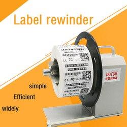 QQTCW-Q5 automatische label zurückspulen maschine barcode label zurückspulen maschine zwei-weg wicklung kennzeichnung maschine