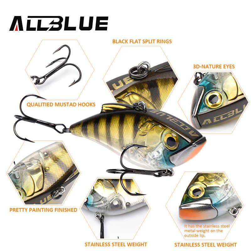 ALLBLUE Тонущая VIB JOKER 70 S 17,2 г 70 мм зимняя приманка для подледной рыбалки, кренкбейт, вся глубина, искусственная наживка, рыболовные снасти