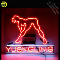 Neon Sign for Yuengling Live Nudes Girl Neon Tube vintage Bright sign handcraft Lamp Store Displays Great Gifts Flashlight sign