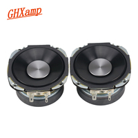 GHXAMP 1Pairs 68MM 4 OHM 25W Full Range Speaker Car Mediant Speaker Home Theater Audio LoudSpeakers