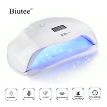 Biutee 72W/48W/36W Professional Lampe UV Nail Dryer LED Lamp Set Nail Manicure Tools Curing Nail Art Gel Polish Nail ToolS цена