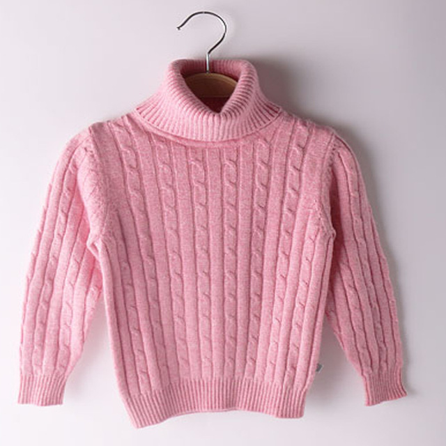 High Quality Children's Pullover Turtleneck Sweater Soft Kids ...