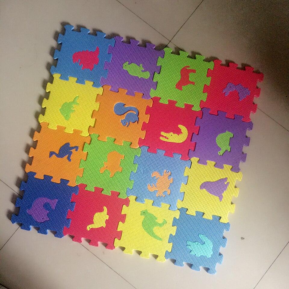 Educational baby eva floor baby foam tile puzzle mats for Foam block floor