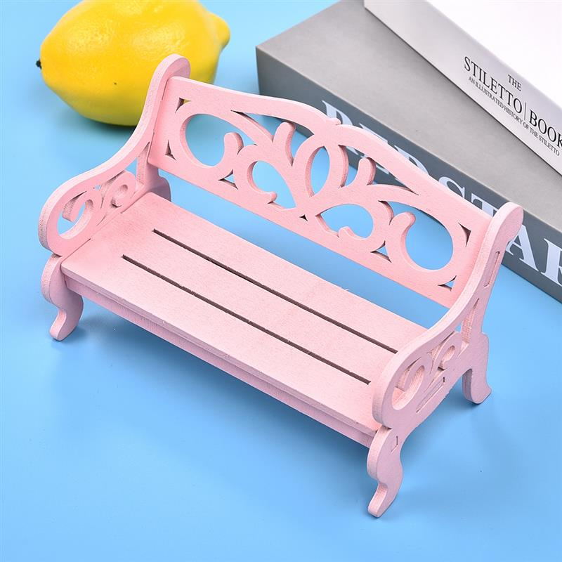 Astounding Us 2 66 40 Off Cute Mini Chair Ornament Wooden Bench Model Miniatures Ornaments Craft Photo Props Home Garden Decoration Kids Toy Gift In Figurines Alphanode Cool Chair Designs And Ideas Alphanodeonline