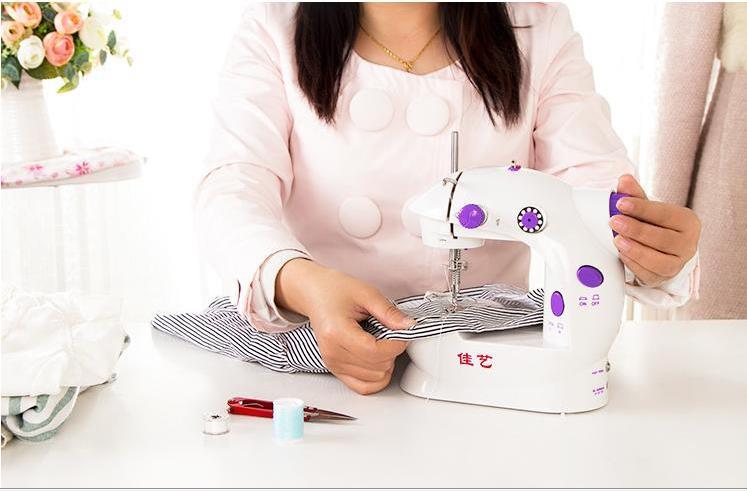 Mini machine à coudre créative saint valentin cadeau petite amie femme mère cadeau nouveau étrange