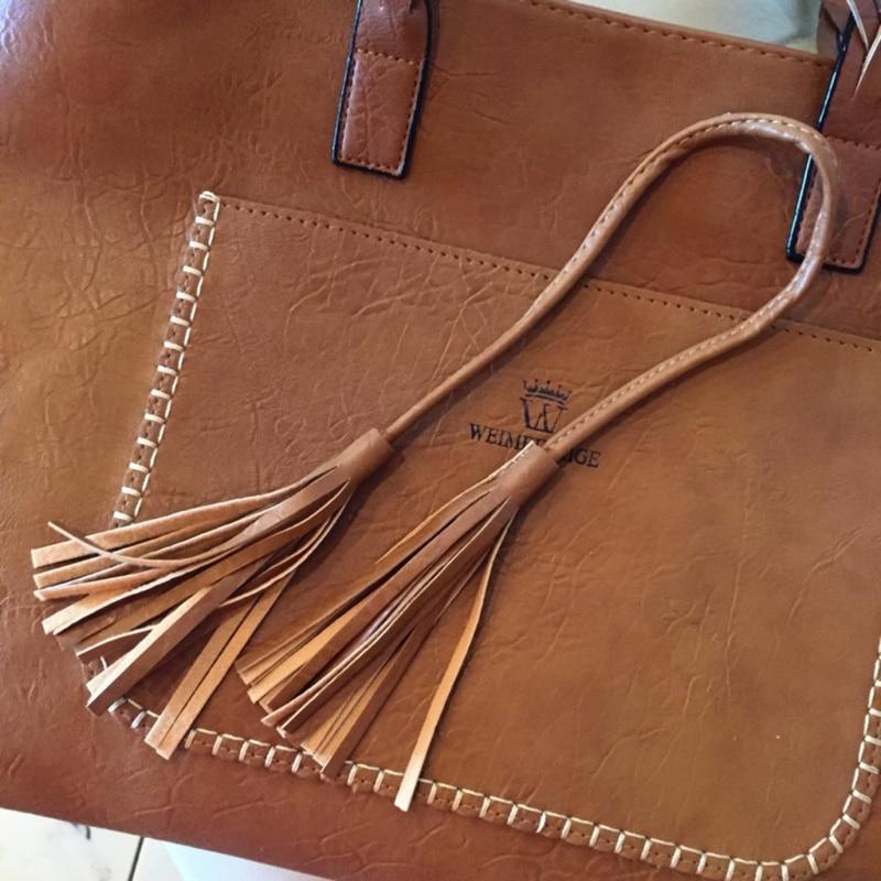 feminina grande bolso casual bolsa borla bolsa