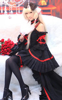 Anime Chobits Chii Party Dress Cosplay Costume Customized
