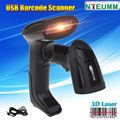 Free shipping!NTEUMM USB Wired Laser Scanning Barcode Scanner Bar Code Reader Handheld For PC