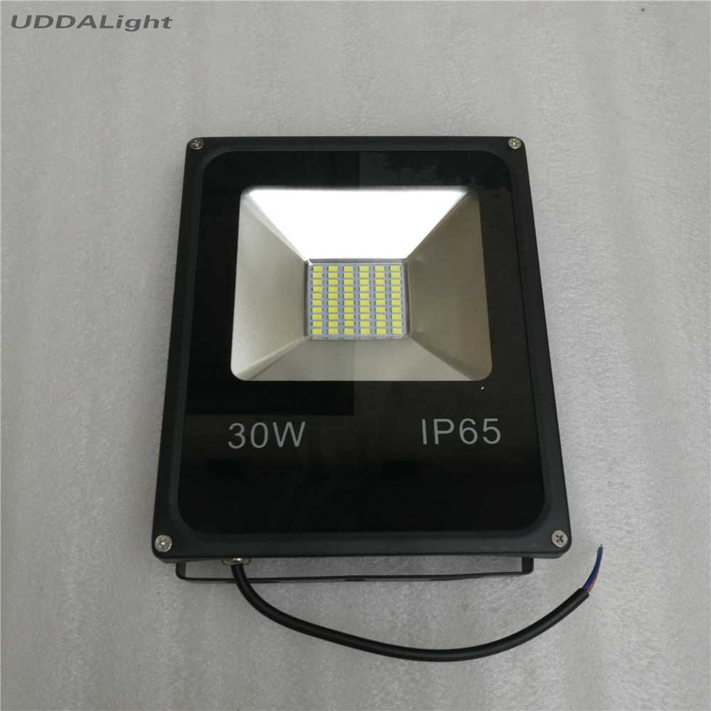 foco led exterior 100W 50W 30W 20W 10W 12V IP65 Flood Light Waterproof Outdoor Garden Landscape Lamp
