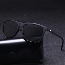 Sunglasses Men Polarized Oversized Mirror Driving Sun Glasse