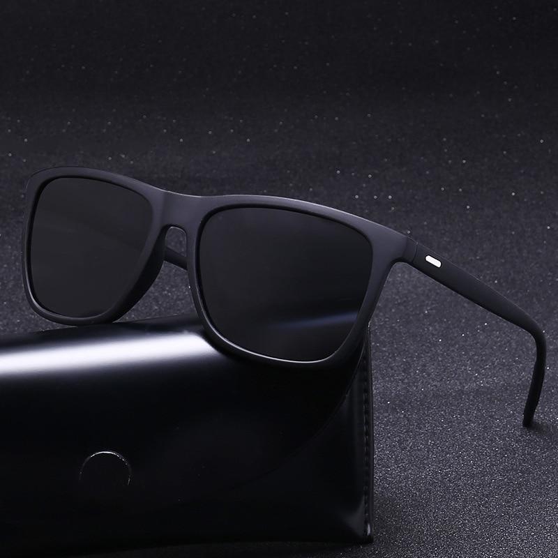 Sunglasses Men Polarized Oversized Mirror Driving Sun Glasses Men Women Brand Designer Retro Vintage Driver Goggles UV400