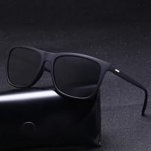 Gafas de sol para hombre, gafas de sol sobredimensionado polarizado con espejo, gafas de sol de conducción para hombre y mujer, gafas Retro de diseñador Vintage para conductor UV400