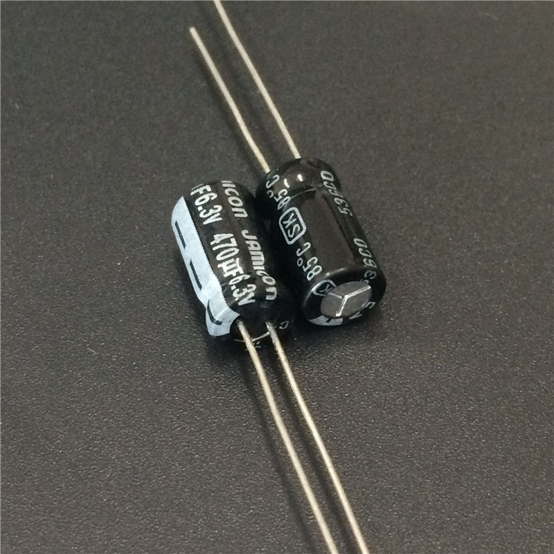 20pcs 470uF 6.3V JAMICON SK Series 6.3x11mm High Quality 6.3V470uF Aluminum Electrolytic Capacitor