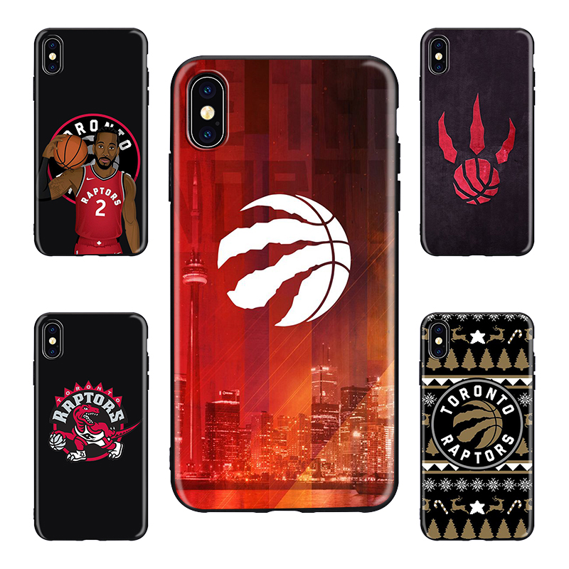 Toronto Raptors basketball team game Phone Case for iPhone 8 7 6 6S Plus X XS MAX 5 5S XR Kawhi Leonard