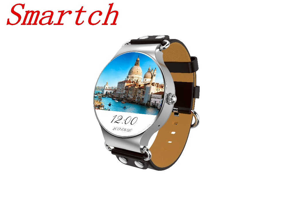 2017 Smartch KW98 Smart Watch Android 5.1 3G WIFI GPS Watch MTK6580 Smartwatch iOS Android For Samsung Gear S3 Xiaomi PK KW88 smartch kw88 smart watch android 5 1 mtk6580 512m 4gb rom sport 3g sim card wifi bluetooth gps smartwatch for xiaomi smartphone