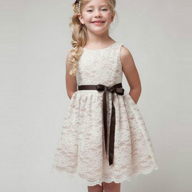 2017 New Arrival Flower Girl Dresses White/Ivory Real Party Pageant Communion Dress Little Girls Kids/Children Dress for Wedding 2017 new arrival flower girl dresses white ivory real party pageant communion dress little girls kids children dress for wedding
