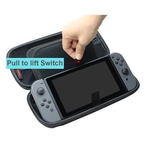 Image 3 - Étui de transport de voyage Durable Compatible pour NS Nintendo Switch accessoires sac de protection Portable à coque dure pour Console de commutation