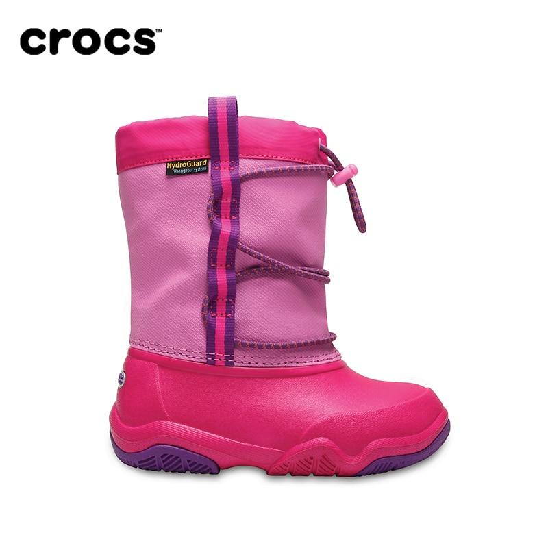 CROCS Swiftwater Waterproof Boot KIDS