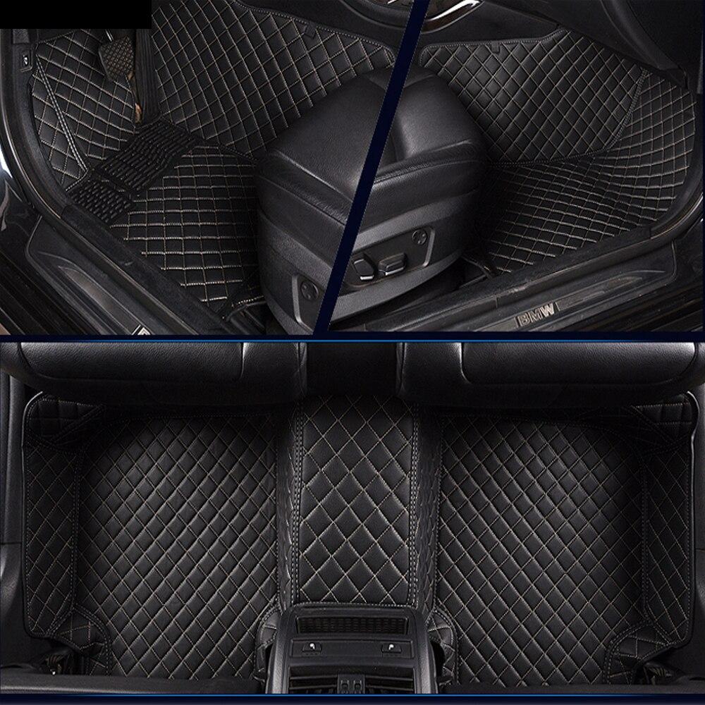 car floor mats for Kia Sportage Optima K5 Sorento Carens 5D full cover case car-styling high quality carpet liners