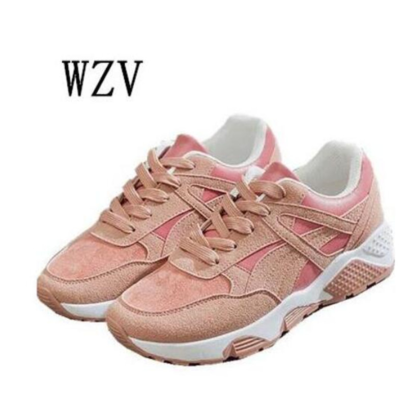 2018 Fashion Women Casual Shoes Summer Comfortable Breathable Mesh Flats Female Platform Shoes Woman Krasovki Tenis Feminino B34 fashion women casual shoes breathable air mesh flats shoe comfortable casual basic shoes for women 2017 new arrival 1yd103