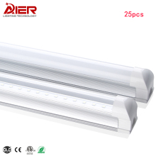 Integrated led tube T8 4ft 22W 18W  Tube Lighting SMD2835 25pcs/lot High Quality CE Rohs