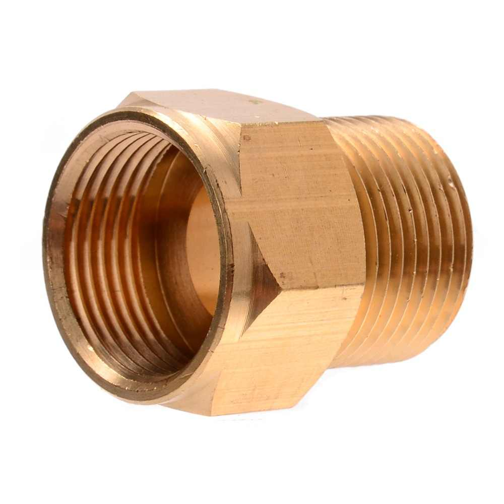 1pc Mayitr Brass Washer Adaptor Coupler M22 Male M22 Female Hose Coupling Adapter For Hd Hds Pressure Washer Hose Coupler Brass Couplingbrass Hose Aliexpress