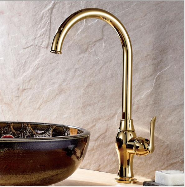 Bathroom Water Tap New Kitchen Faucet Torneira Cozinha Lavabo gold Basin Faucet Brass Water Tap Sink Basin Mixer Tap Faucet hpb brass morden kitchen faucet mixer tap bathroom sink faucet deck mounted hot and cold faucet torneira de cozinha hp4008
