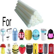Сменные стержни для автомобильного диффузора, освежитель воздуха, увлажнители, фитиль, ароматерапия, распылитель, увлажнитель, стержень со спонжем для стерилизации