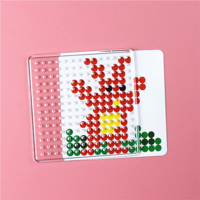 Online Shop 3D Puzzle Pegboards Patterns templates for Hama Beads ...